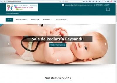Sala de Pediatria y Neonatologia Paysandu