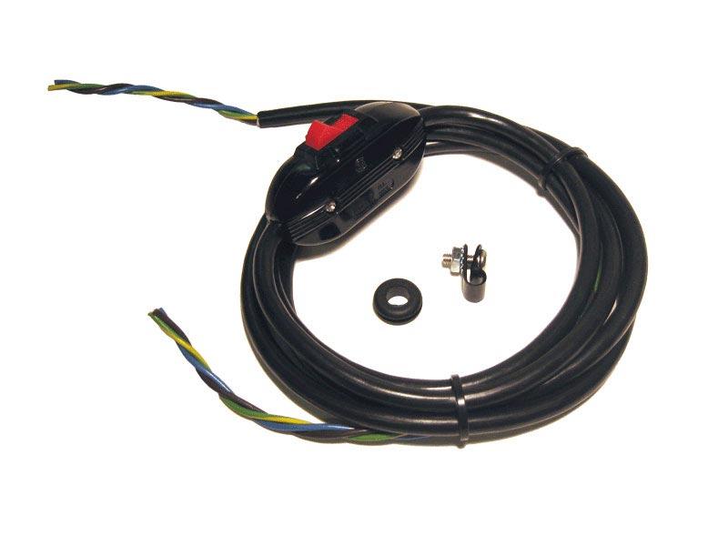 Power Cord & Switch (240 Vac)