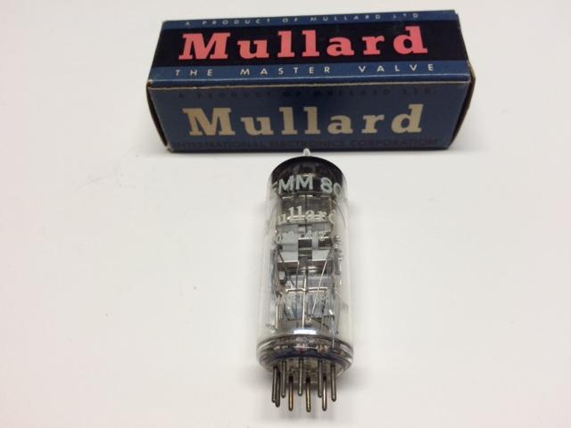 Mullard NOS EMM801 Tube