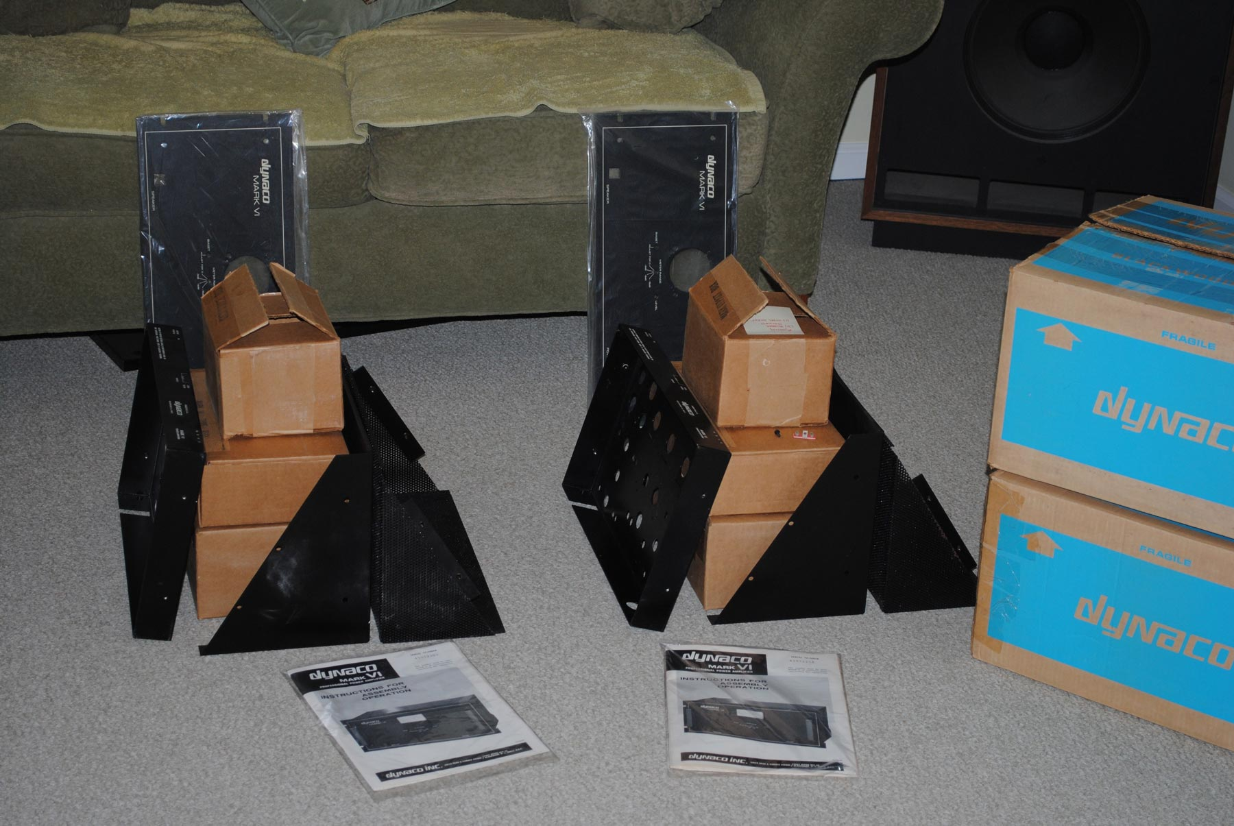 Dynaco MK VI Power Amps NOS