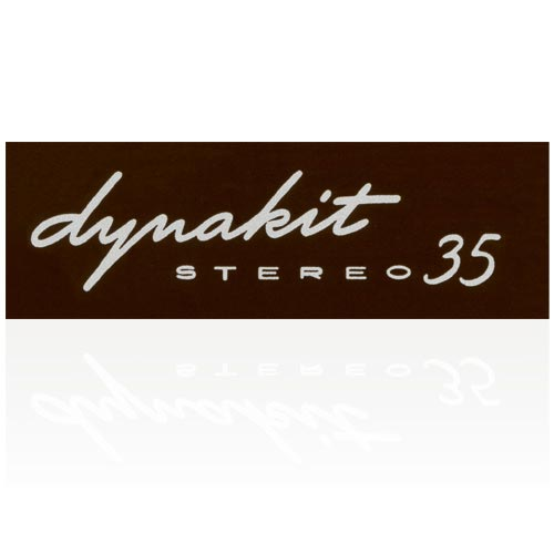 DYNAKIT ST-35 LABEL
