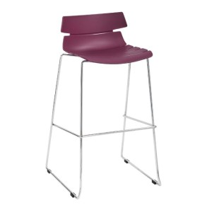 stacking barstool, contract furniture, restaurant furniture