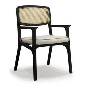 karl armchair, cane furniture, hotel furniture, restaurant furniture