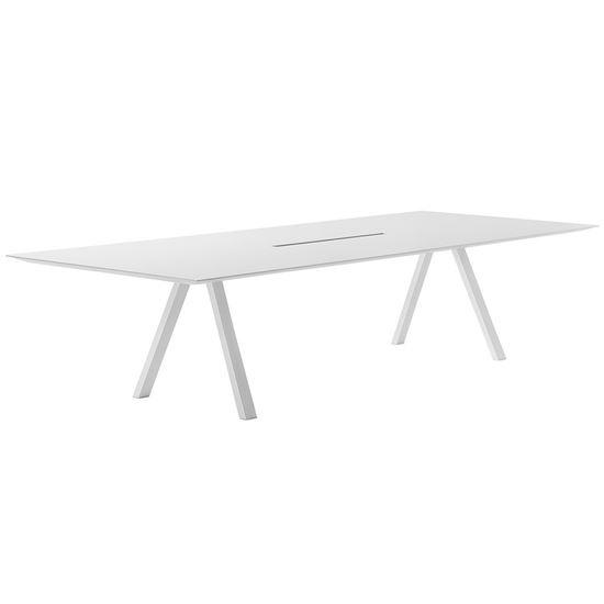 pedrali, arki desk table, table, contract furniture, restaurant furniture
