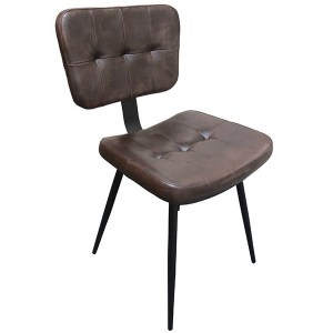 slim tan side chair, stock chairs, contract furniture, restaurant furniture, industrial furniture