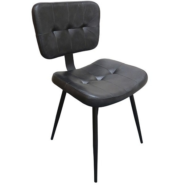slim black side chair, stock chairs, contract furniture, restaurant furniture, industrial furniture