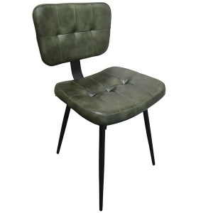 slim green side chair, stock chairs, contract furniture, restaurant furniture, industrial furniture