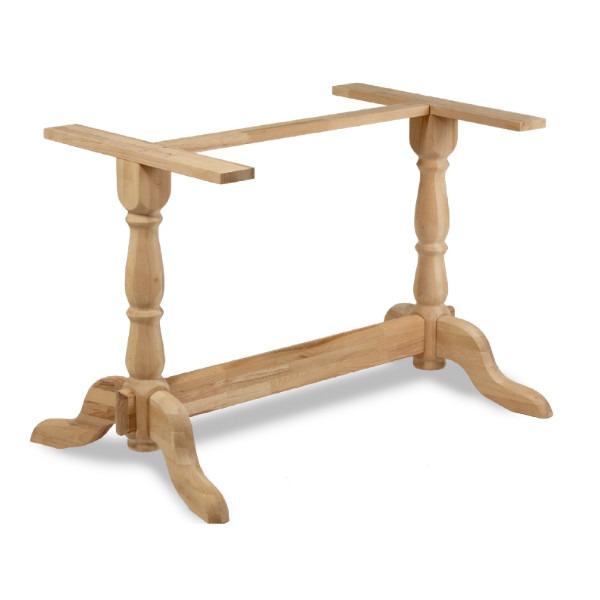 bark twin table base, table bases, restaurant furniture, hotel furniture
