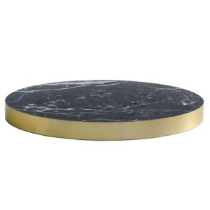Laminate black marble top, table tops, marble, contract furniture, restaurant furniture, hotel furniture