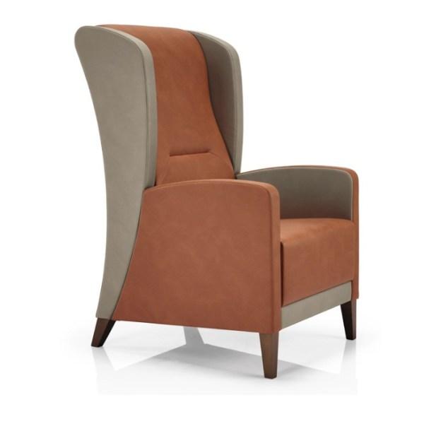 range lounge chair, healthcare furniture, care home furniture, nursing home furniture