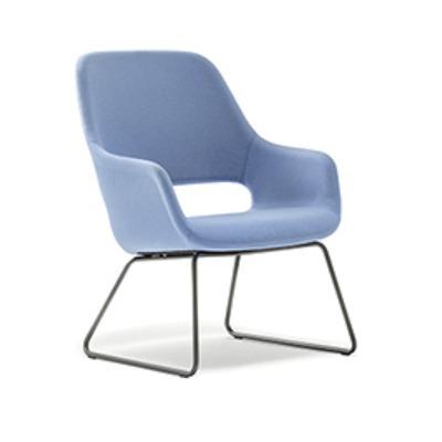 Babila 2749 lounge chair, pedrali, pedrali furniture, contract furniture