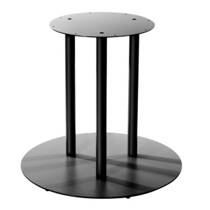 triple table base, table bases, contract furniture, restaurant furniture, hotel furniture