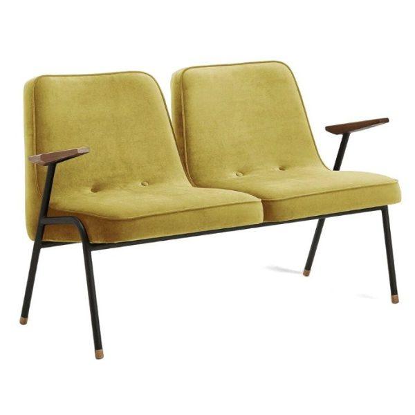 366 metal 2 seater, bar furniture, restaurant furniture, hotel furniture, workplace furniture, contract furniture, office furniture
