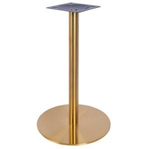 Brass small table base, bar furniture, restaurant furniture, hotel furniture, workplace furniture, contract furniture, office furniture