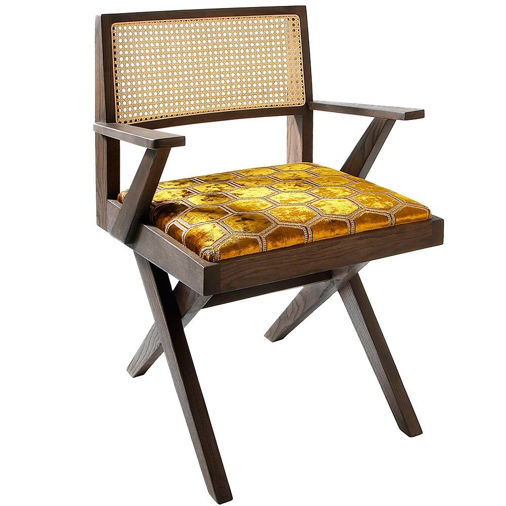 glamis rattan restaurant armchair