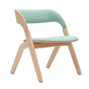 umbra lounge chair for workplace and hotel spaces