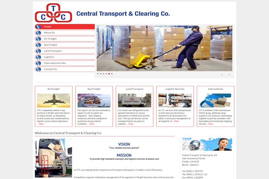 CTC central Transport website,dynamic dezyne,ecomemrce website development in lebanon,top web development companies in lebanon,ecommerce mobile apps in lebanon, emarketing in lebanon, social media in Lebanon, social media agency in lebanon, web agency in Lebanon,web development in Lebanon,websites in lebanon, website companies in lebanon,best web agency lebanon,best online marketing company in lebanon, web development company Lebanon, mobile apps android & ios, website development company Lebanon, web design company in Lebanon, software development in lebanon,best web and mobile agency in lebanon,mobile app developers,ecommerce in lebanon