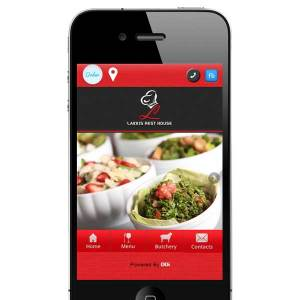 Restaurant delivery mobile app