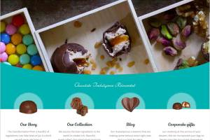 Pralino chocolates website in Lebanon