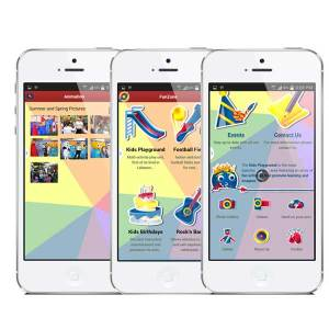 children playground mobile app