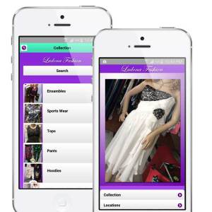 ladona fashion mobile app