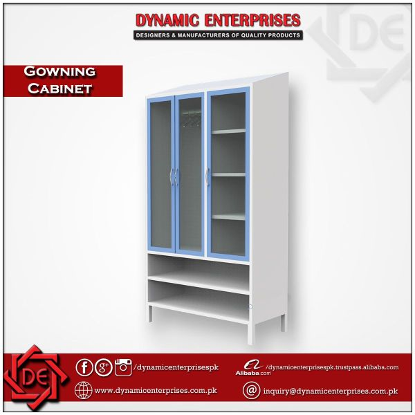 Laboratory Gowning Cabinet