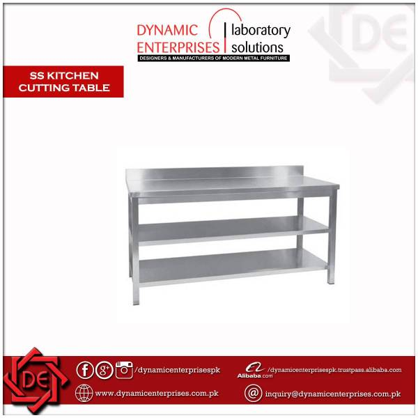 SS KITCHEN Cutting Table