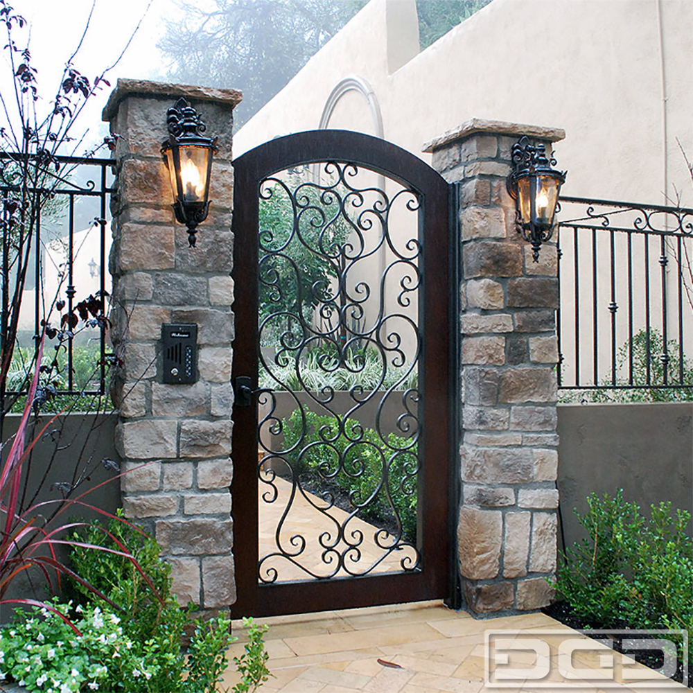Architectural Gates 03 | Custom Designer Pedestrian Gate ... on Iron Get Design  id=83746