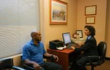 Dr. Suma Oommen in Consultation