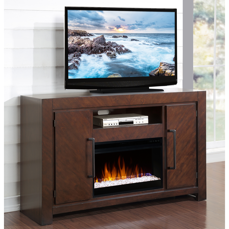 Legends Furniture ZCTL 1900 City Lights 61 Fireplace TV