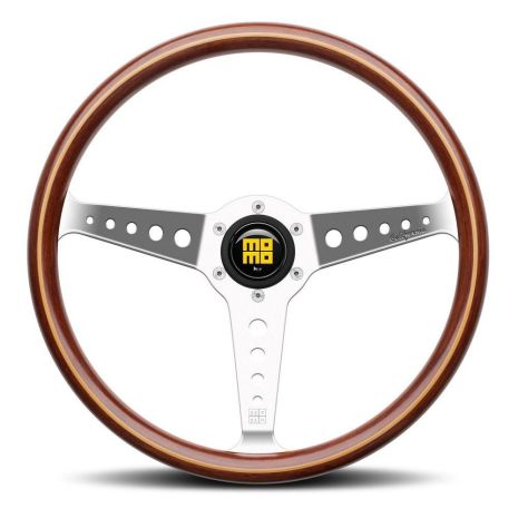 MOMO ITALY STEERING WHEEL HERITAGE CALIFORNIA WOOD 360MM