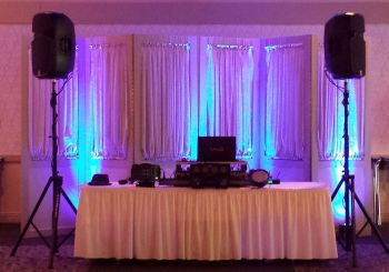 Wedding DJs & Uplighting