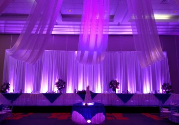 Wedding Decor Draping