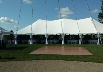 Tent & Dance Floor Decor