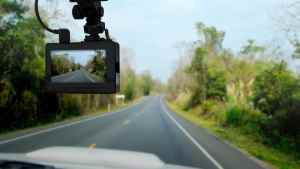 dashboard camera in truck