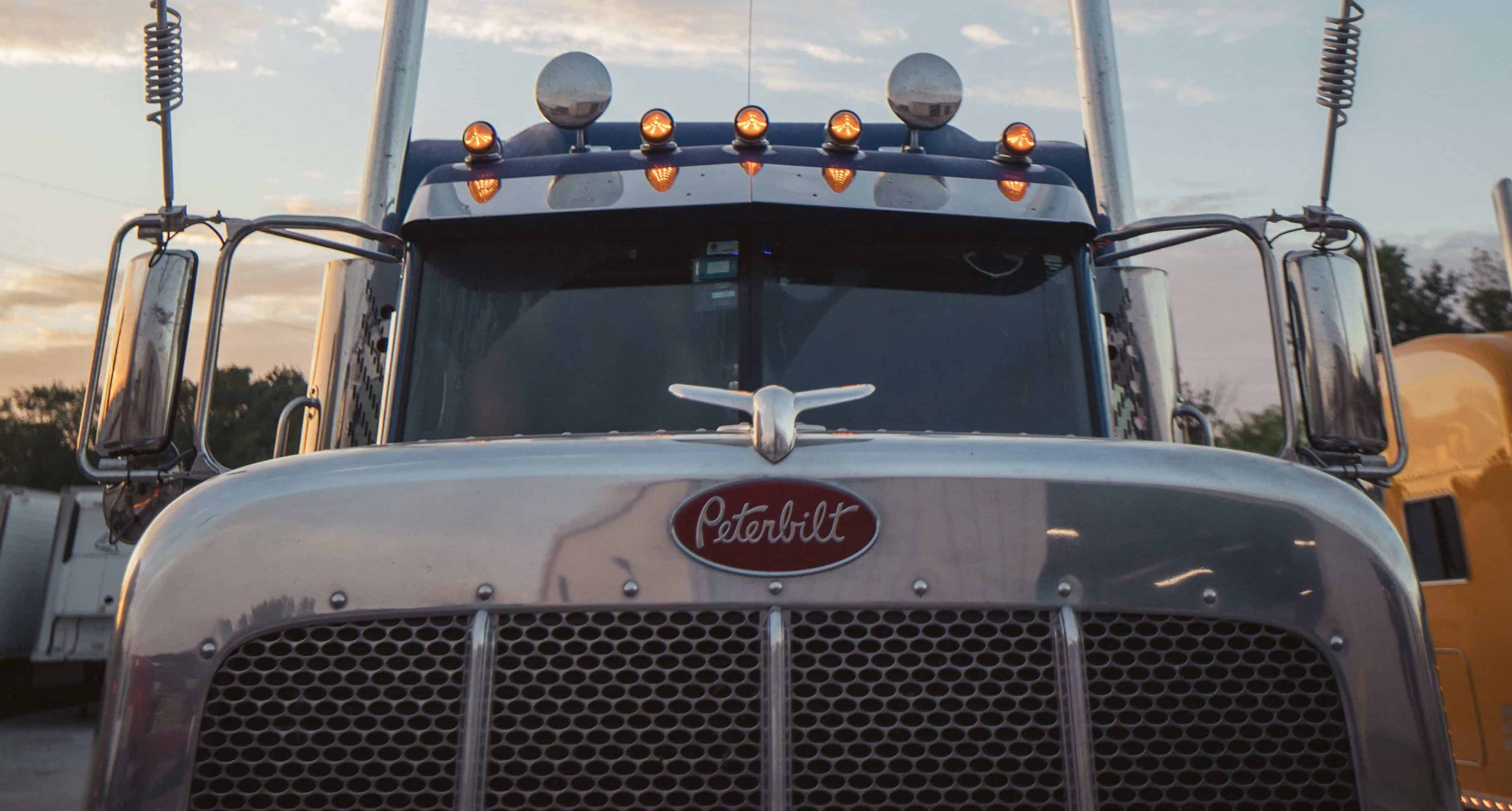 Our Peterbilt Fleet and Equipment for Our Drivers - Dynamic