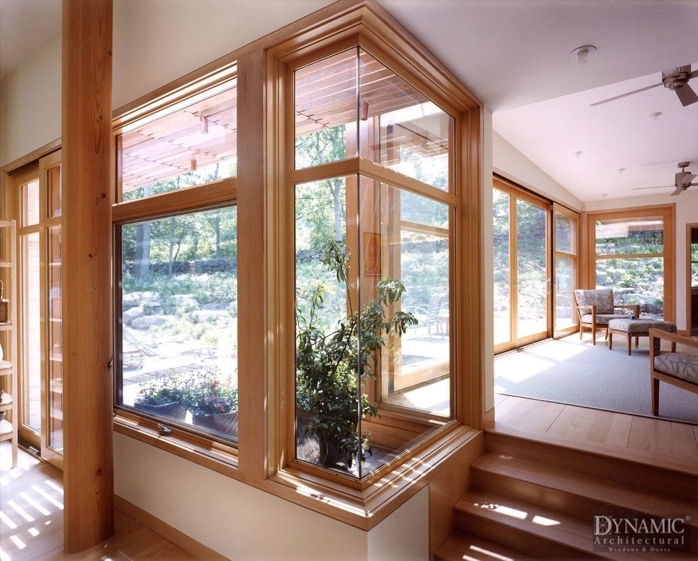 Wood Corner Windows Dynamic Architectural Windows Amp Doors