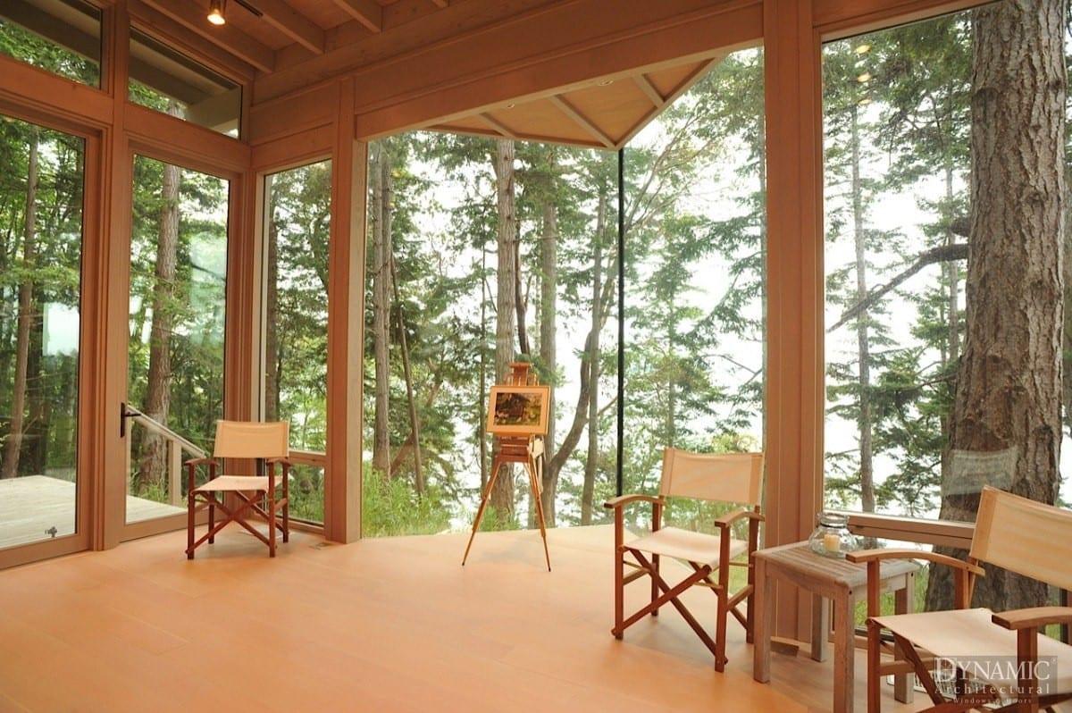 Wood Corner Windows Dynamic Architectural Windows Amp Doors