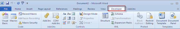 word forms02   Make A Fillable Form In Word 2010 & Collect Data The Easy Way