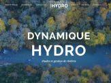 Page d'accueil de notre nouveau site internet