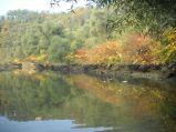 Vue sur la rivière Usses