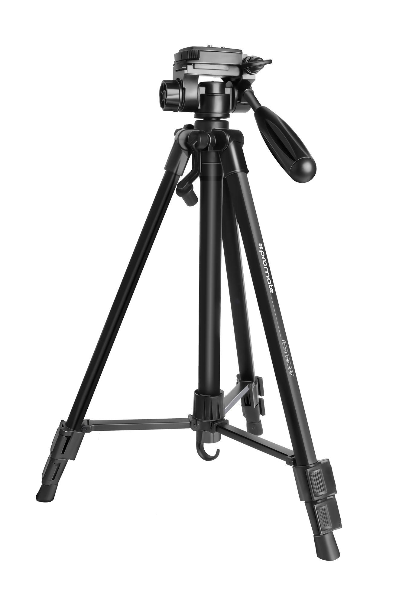 Promate 3 Way Precision Head Tripod 50cm 150cm Height