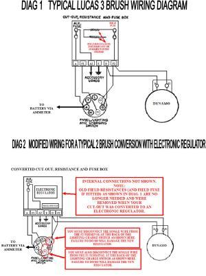 Dynamo To Alternator Conversion Wiring Diagram  Somurich