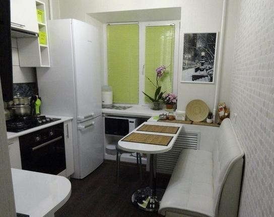 Маленькие кухни - фото кухонь в интерьере, советы ...