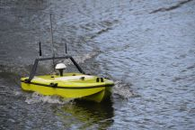 Small electrically powered vehicle in hover mode