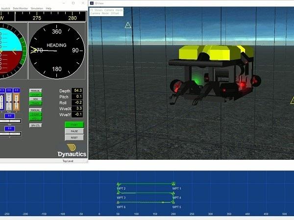 DNX AUV Sim screen