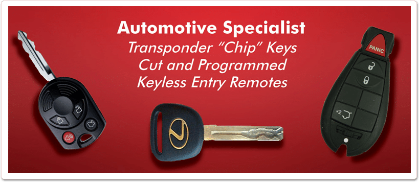 Cadillac Replacement Car Keys