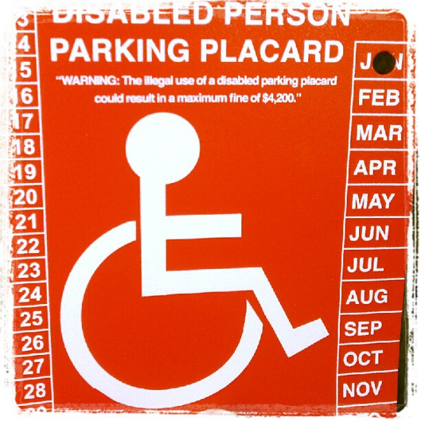 how to obtain a disabled parking placard for POTS ...