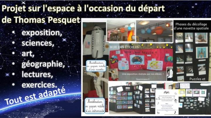 Thomas Pesquet nous emmène dans l'espace
