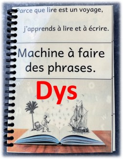 Machine à faire des phrases à l'infini dys